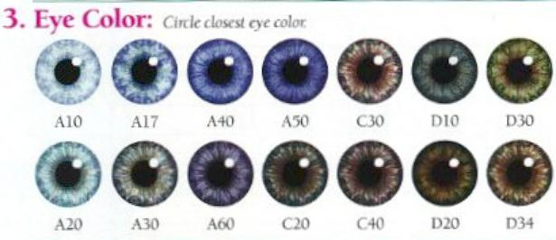 Denver Era Skin Tone Eye Color Hair Color Charts From My Twinn