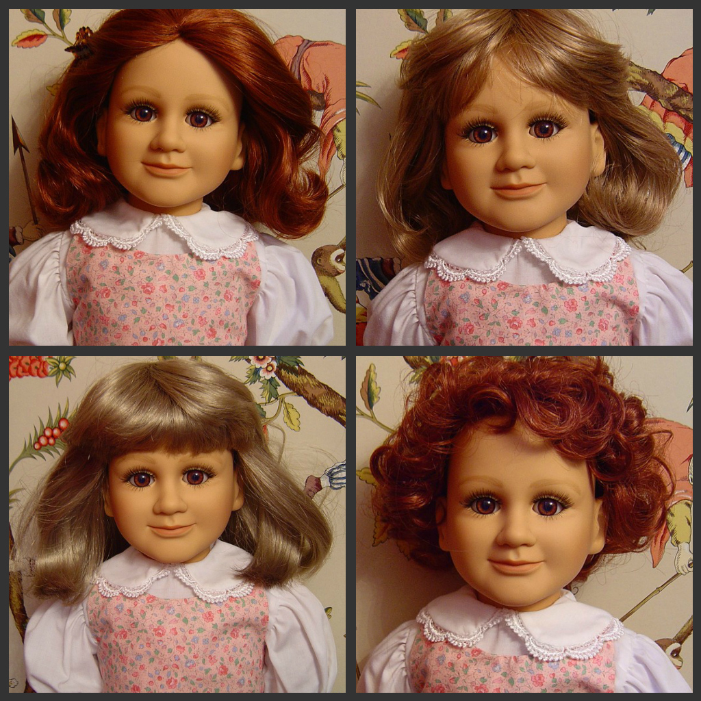 Now in a several styles borrowed from other My Twinn dolls.